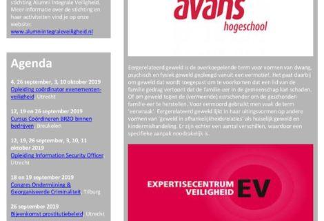 Nieuwsbrief AIV – September 2019