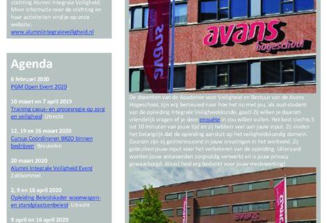 Nieuwsbrief AIV – Februari 2020